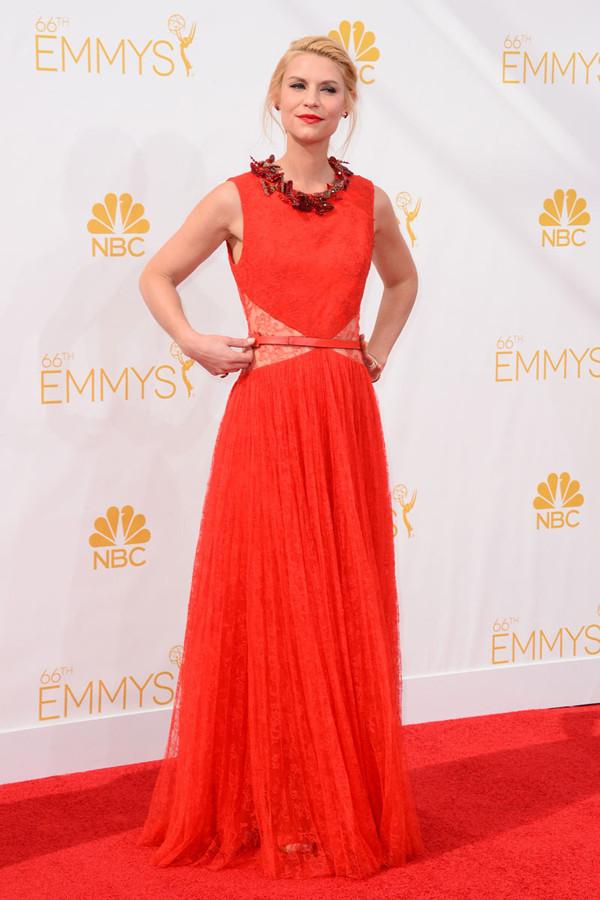Las mejor (y peor) vestidas en los Emmy 2014 Claire Danes