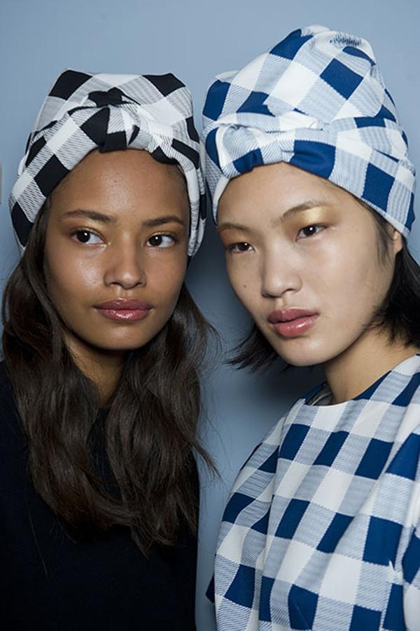 Algunas ideas para decorar el cabello turbante