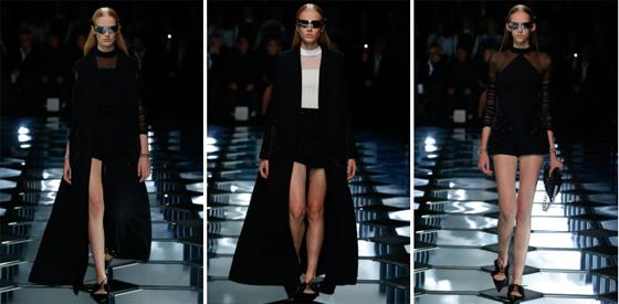 Desfile de Balenciaga en Paris Fashion Week SS 2015