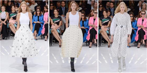 Desfile Dior en Paris Fashion Week SS 2015