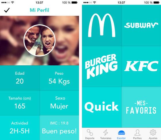 Las mejores apps para estar en forma Check & Burn