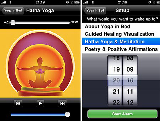 Las mejores apps para estar en forma Yoga In Bed
