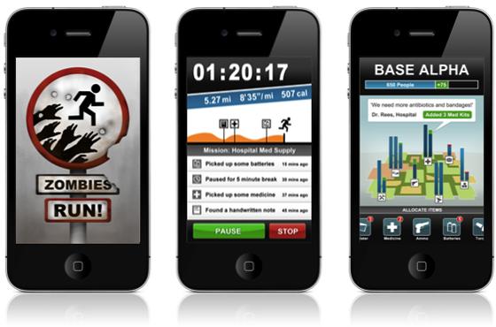 Las mejores apps para estar en forma zombies run