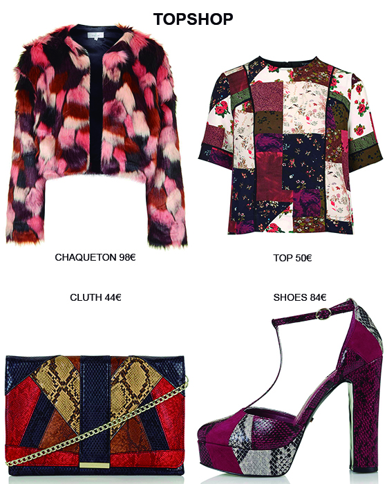 Tendencia patchwork. TOPSHOP