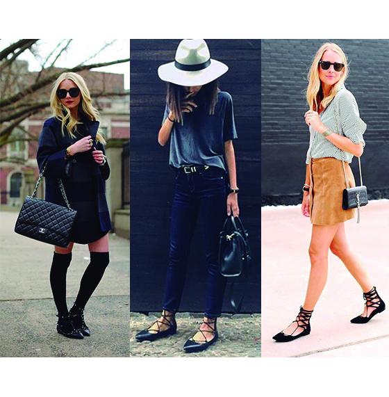Ballet Flat Shoes, más que una Tendencia. outfit 1