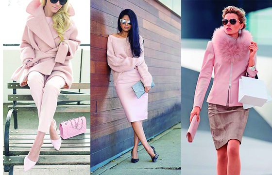 LA VIDA DE COLOR ROSA . TOTAL LOOK