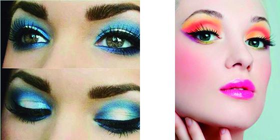 look Beauty Navideño, color