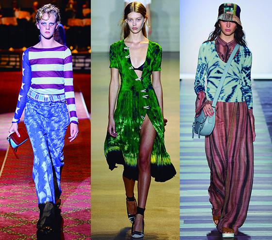 Tendencias claves, que nos guiaran en la próxima primavera 2016, Tie and Dye 1
