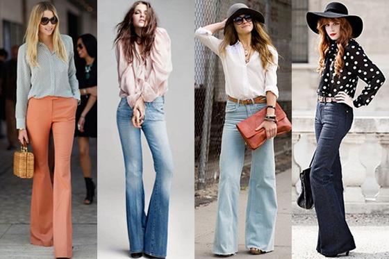 Buenos propósitos ,buenas tendencias,  flared trousers