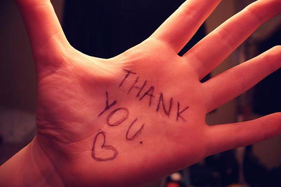 Claves para una vida más feliz, gratitud