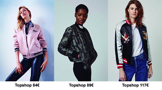Tendencia, chaqueta bomber, Topshop