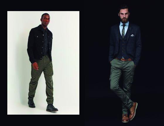 Tendencias Hombre, primavera 2016 , pantalon cargo