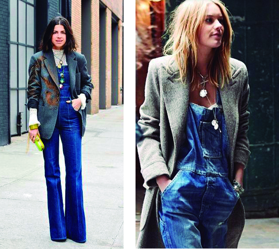 Tendencia, peto , peto + blazer